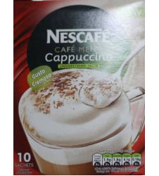 Nestle Nescafe Cappuccino Unsweetened (165gm)