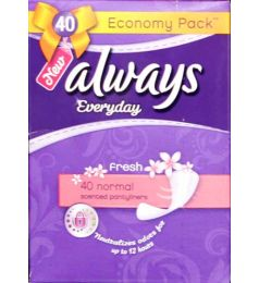 Always Normal Scented Liner 40s