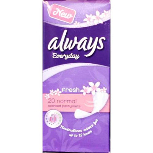 Always Pantyliner 20 Normel Feminine Care Gomart Pk