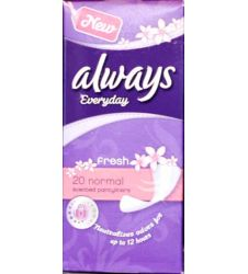 Always Scented Panty Liner 20s