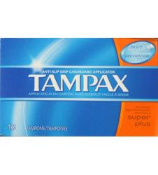Tampax Super Plus 10