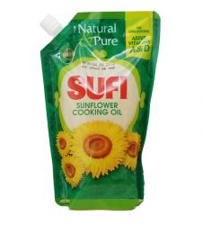 Sufi Sunflower Cooking Oil (1ltr)