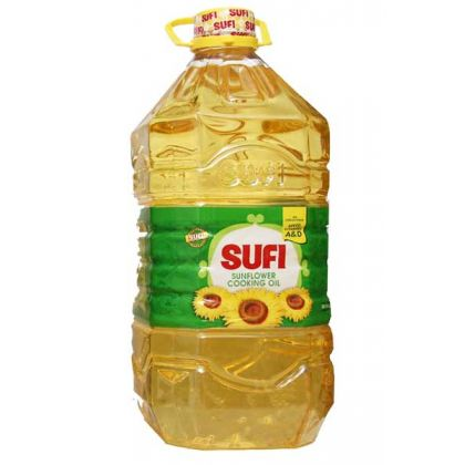 Sufi Sunflower Cooking Oil (5ltr)