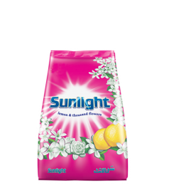 SUNLIGHT WASHING POWDER - PINK (500G)