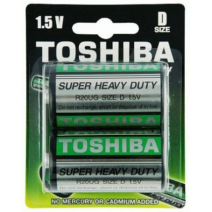 Toshiba D General Purpose Cell (pack of 2)