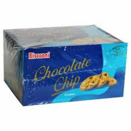 Bisconni Biscuit - Chocolate Chip (6 Half Rolls Box)