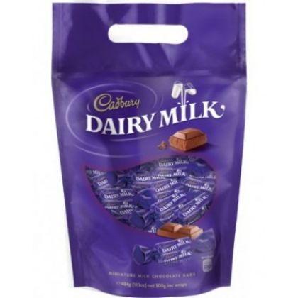 Cadbury Dairy Milk Chocolate Bars (176gm pouch)