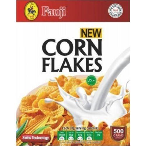 Fauji Corn Flakes 150gms Breakfast Cereals Gomart Pk