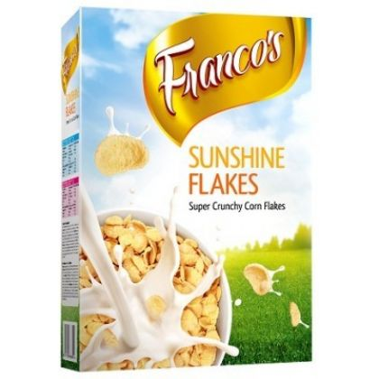 Francos Sunshine Flakes 375gms