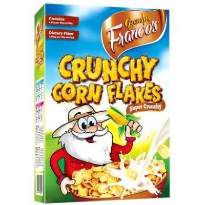 Grandpa Francos Crunchy Corn Flakes 500gms