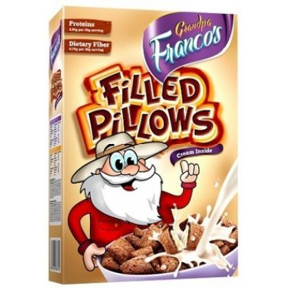 Grandpa Francos Filled Pillows Cream 250gms