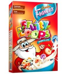 Grandpa Francos Fruity Loops 375gms