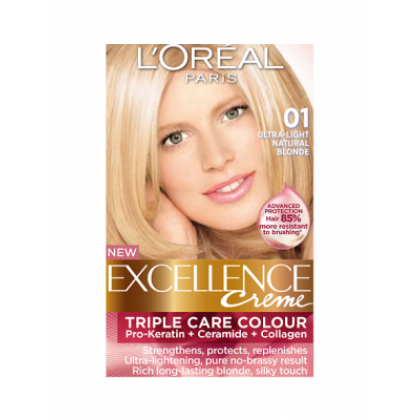 Loreal Excellence Creme 01 Ultra Light Natural Blonde