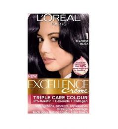 Loreal Excellence Creme 1 Blackest Black