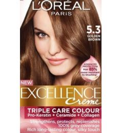 Loreal Excellence Creme 5.3 Golden Brown