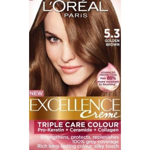 New Hairstyle 2014 Medium Golden Brown Hair Color Loreal Images