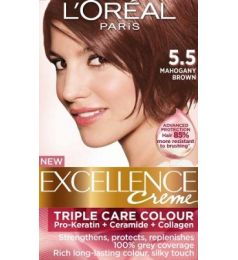 Loreal Excellence Creme 5.5 Mahogany Brown