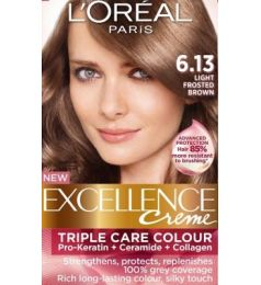 Loreal Excellence Creme 6.13 Light Frosted Brown