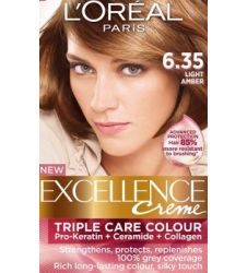 Loreal Excellence Creme 6.35 Light Amber