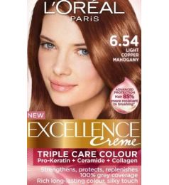 Loreal Excellence Creme 6.54 Light Copper Mahogany