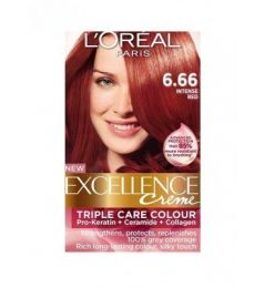 Loreal Excellence Creme 6.66 Intense Red