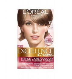 Loreal Excellence Creme 7.1 Dark Ash Blonde