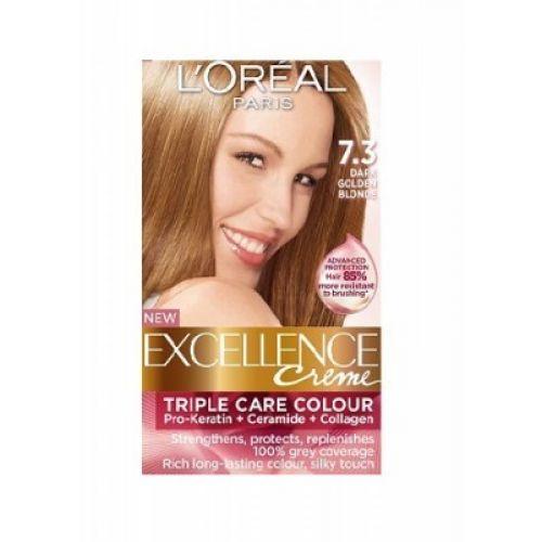 Loreal Excellence Creme 7 3 Dark Golden Blonde