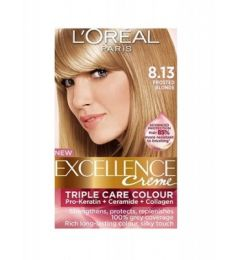 Loreal Excellence Creme 8.13 Frosted Blonde