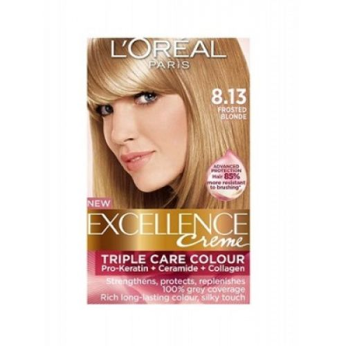 Loreal Excellence Creme 8 13 Frosted Blonde Hair Color