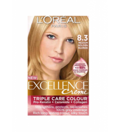Loreal Excellence Creme 8.3 Medium Golden Blonde