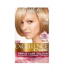 Loreal Excellence Creme 8.13 Frosted Blonde - Hair Color & Dye ...