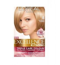 Loreal Excellence Creme 8 Natural Blonde