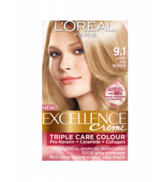 Loreal Excellence Creme 9.1 Light Ash Blonde
