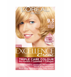 Loreal Excellence Creme 9.3 Light Golden Blonde