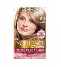 Loreal Paris Excellence Creme 8.1 Ash Blonde