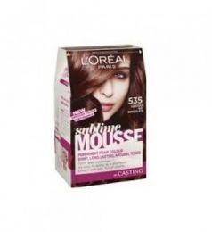 Loreal Paris Sublime Mousse 535 Luscious Hot Chocolate