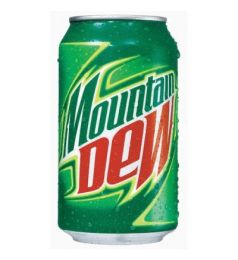 Mountain Dew Can Of 330Lt