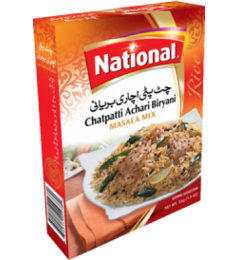 National Chatpatti Achari Biryani Masala Mix (50gm)