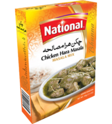 National Chicken Hara Masala Mix (50gm)