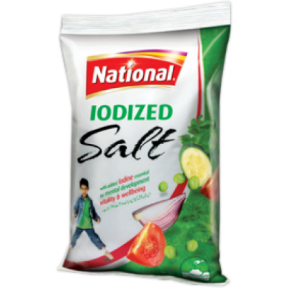 National Iodized Salt (800gm)