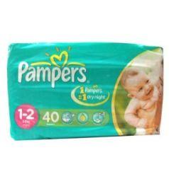 Pampers Jumbo Pack Diapers 1-2 Mini 3-6 Kg (40Pcs)