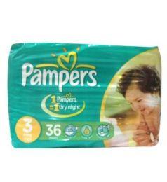 Pampers Jumbo Pack Diapers 3 Midi 4-9 Kg (36Pcs)