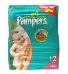 Pampers Mega Pack Diapers 1-2 Mini 3-6 Kg (80Pcs)