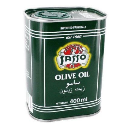 Sasso Olive Oil Tin (400ml)