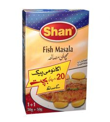 Shan Fish Masala Economy Pack (120gms)