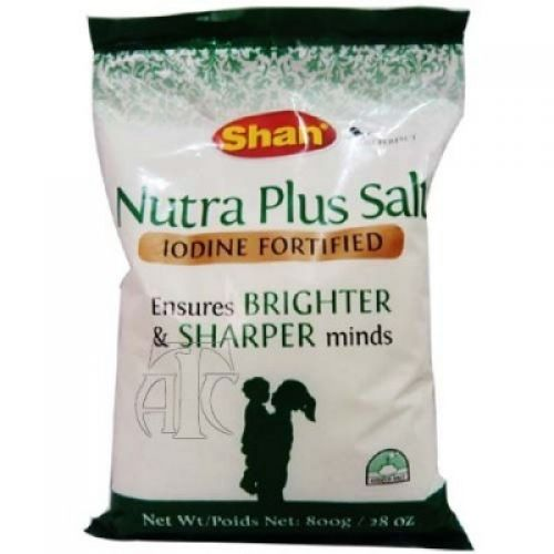 Shan Nutra Plus Salt Iodine Fortified (800gms) - Spices