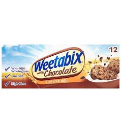 Weetabix Chocolate Biscuits 12 Pieces