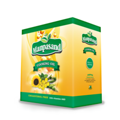 Manpasand Cooking Oil (5x900ml)