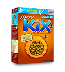Kix Honey Cereal (340gm)