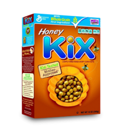 Kix Honey Cereal (340gm)